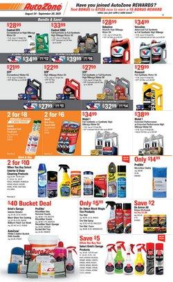 Automotive deals in the AutoZone catalog ( 2 days left)