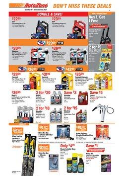 Automotive deals in the AutoZone catalog ( 22 days left)