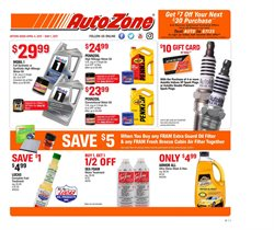 AutoZone deals in the Miami FL weekly ad