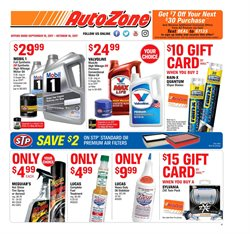 Automotive deals in the AutoZone weekly ad in Johnstown PA