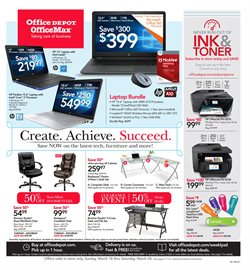 Electronics & Office Supplies deals in the Office Depot weekly ad in New York