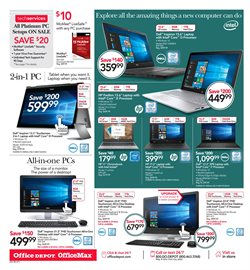 Tablet deals in the Office Depot weekly ad in Hot Springs National Park AR