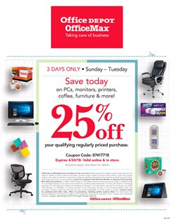 Electronics & Office Supplies deals in the Office Depot weekly ad in Acworth GA