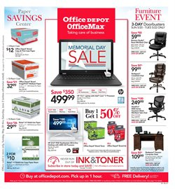 Laptop deals in the Office Depot weekly ad in New York