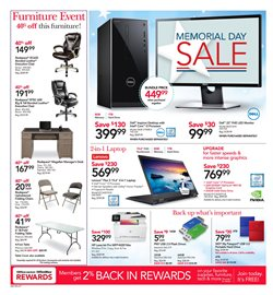 Lenovo deals in the Office Depot weekly ad in New York