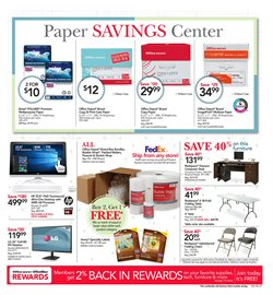 LG deals in the Office Depot weekly ad in Fontana CA