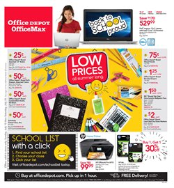 Electronics & Office Supplies deals in the Office Depot weekly ad in Anderson IN