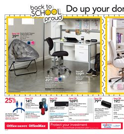Photo camera deals in the Office Depot weekly ad in New York
