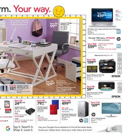 Epson deals in the Office Depot weekly ad in New York