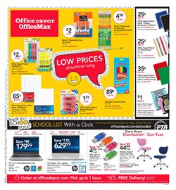 Electronics & Office Supplies deals in the Office Depot weekly ad in Roswell GA
