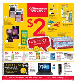 Laptop deals in the Office Depot weekly ad in Roswell GA
