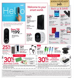 Headphones deals in the Office Depot weekly ad in New York