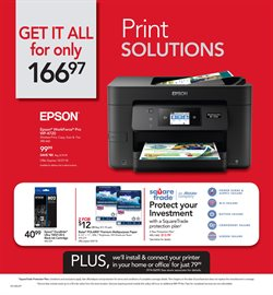 Printer deals in the Office Depot weekly ad in Garden Grove CA