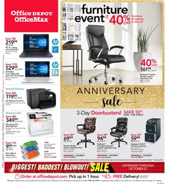 Laptop deals in the Office Depot weekly ad in Pontiac MI