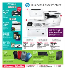Keyboard deals in the Office Depot weekly ad in New York