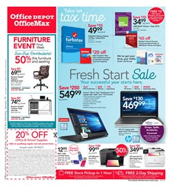 Usb deals in the Office Depot weekly ad in New York