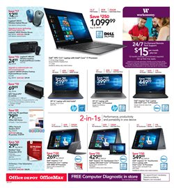 Logitech deals in the Office Depot weekly ad in New York