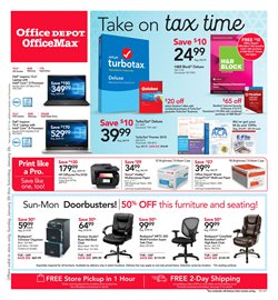 Laptop deals in the Office Depot weekly ad in Sugar Land TX