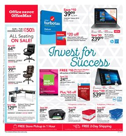 Electronics & Office Supplies deals in the Office Depot weekly ad in Delray Beach FL