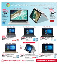 Laptop deals in the Office Depot weekly ad in Delray Beach FL