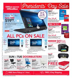 Electronics & Office Supplies deals in the Office Depot weekly ad in Kenner LA