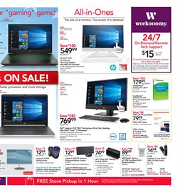 Video deals in the Office Depot weekly ad in Pontiac MI