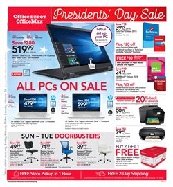 Electronics & Office Supplies deals in the Office Depot weekly ad in Rapid City SD