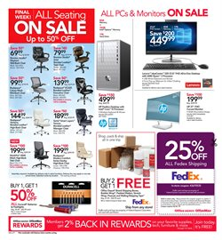 Keyboard deals in the Office Depot weekly ad in Lakewood WA