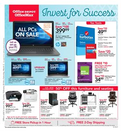 Electronics & Office Supplies deals in the Office Depot weekly ad in Whittier CA