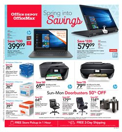 Lenovo deals in the Office Depot weekly ad in Bothell WA