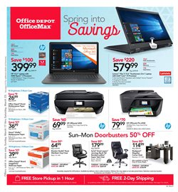 Electronics & Office Supplies deals in the Office Depot weekly ad in Abilene TX