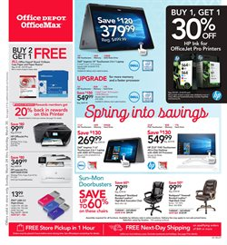 Electronics & Office Supplies deals in the Office Depot weekly ad in Jackson MS