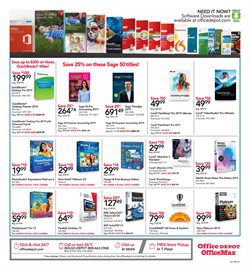 Music deals in the Office Depot weekly ad in New York