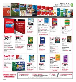 Video deals in the Office Depot weekly ad in New York