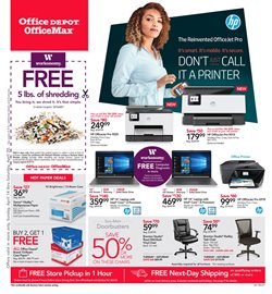 Electronics & Office Supplies deals in the Office Depot weekly ad in Federal Way WA