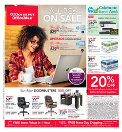 Electronics & Office Supplies deals in the Office Depot weekly ad in Garden Grove CA