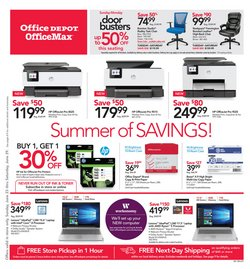 Electronics & Office Supplies deals in the Office Depot weekly ad in Chicago IL