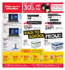 Electronics & Office Supplies deals in the Office Depot weekly ad in Modesto CA