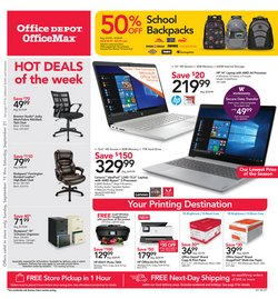 Office Depot deals in the Los Angeles CA weekly ad