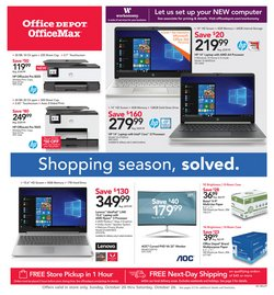 Electronics & Office Supplies deals in the Office Depot weekly ad in Pontiac MI