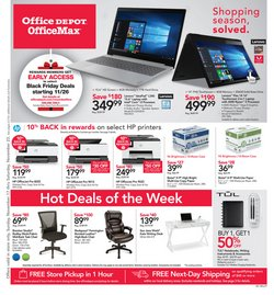 Electronics & Office Supplies deals in the Office Depot weekly ad in Austin TX