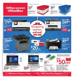 Electronics & Office Supplies deals in the Office Depot weekly ad in Montebello CA