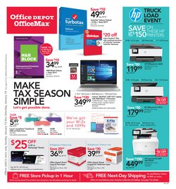 Electronics & Office Supplies deals in the Office Depot weekly ad in Van Nuys CA