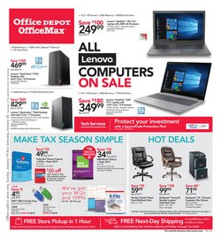 Electronics & Office Supplies deals in the Office Depot weekly ad in Burlington NC