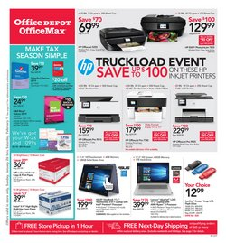 Electronics & Office Supplies deals in the Office Depot weekly ad in Dallas TX