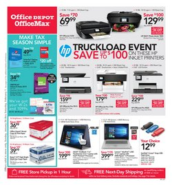 Electronics & Office Supplies deals in the Office Depot weekly ad in Broken Arrow OK