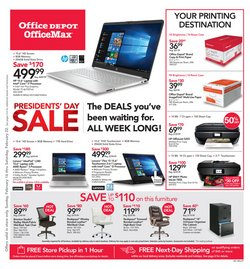Electronics & Office Supplies offers in the Office Depot catalogue in Fort Smith AR ( 2 days ago )