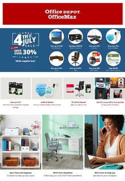 Electronics & Office Supplies offers in the Office Depot catalogue in New York ( Expires today )