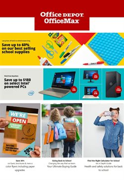 Electronics & Office Supplies offers in the Office Depot catalogue in Pontiac MI ( 2 days left )