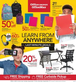 Electronics & Office Supplies offers in the Office Depot catalogue in Grand Prairie TX ( Expires tomorrow )